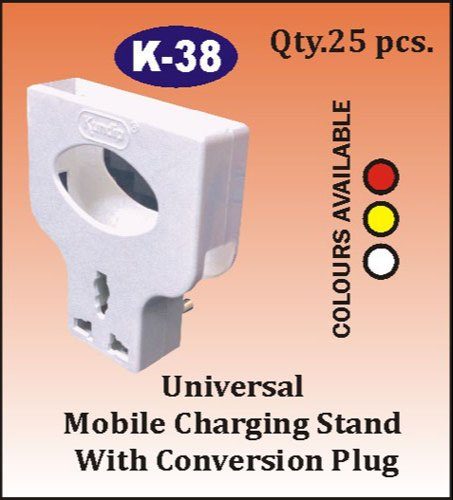 K- 38 Universal Mobile Charging Stand With Conversion Plug
