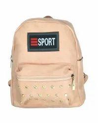 Cream Girls Backpack