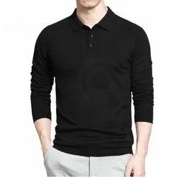 Premium Full sleeves Quality Plain Blank Polo T Shirt 250 GSM