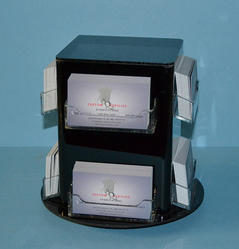 Revolving Business Card Holder