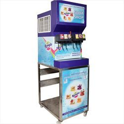 6 Plus 1 Soda Shop Machine