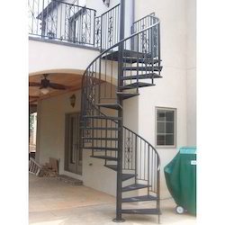 Lovely Mild Steel Spiral Staircase At Rs 110 /kilogram | Shiv Shankar Colony |  Hyderabad | ID: 16708787862