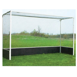 GSI White International Hockey Goal Post, Size: Standard