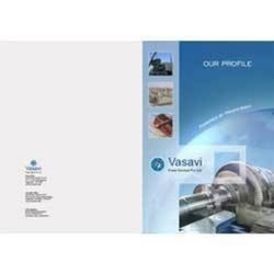 Laminated Paper Corporate Brochures, Size: 8.5 X 11, 8.5 X 14cm