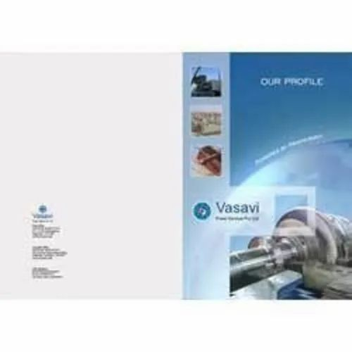 Laminated Paper Corporate Brochures, Size: 8.5 X 11,8.5 X 14cm