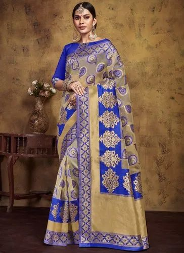 Kota Lichi Party Wear Designer Saree, 6 m (with blouse piece)