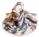 Women's Occasion Wear Designer Digital Printed Scarf Hijab Dupatta