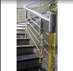 Luxury Stainless Steel Stair