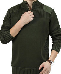 Mens Army Pullover