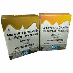 Veterinary Amoxicillin With Cloxacillin Injection, For Hospital | ID