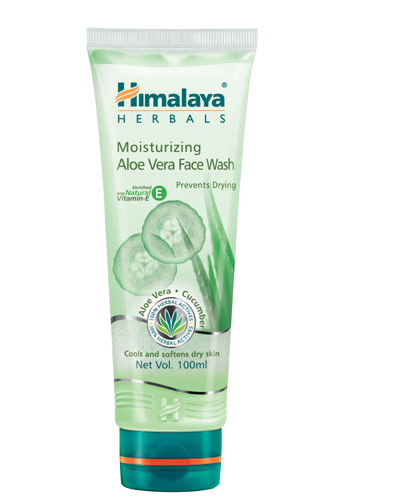 Himalaya Moisturizing Aloe Vera Face Wash, 100 ml