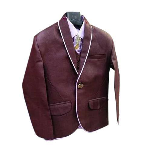 d45f53aa8 Polyester Full Sleeve Boys Fancy Full Suit