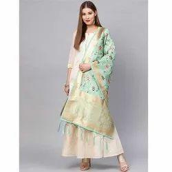 Zarika Hit Color Vol 6 Banarasi Silk Dupatta