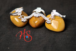 Silver Singapuri Chain Toe Ring