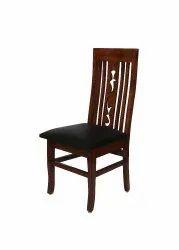 Riyo Moda Weight: 15kg Ivano Teak Wood Dining Chair, Warranty: One Year