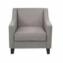 Sagwan wood Modern Office Single Seater Sofa