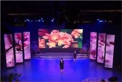 P4.81 SMD Booth Video Club LED Wall Display Portable Screen
