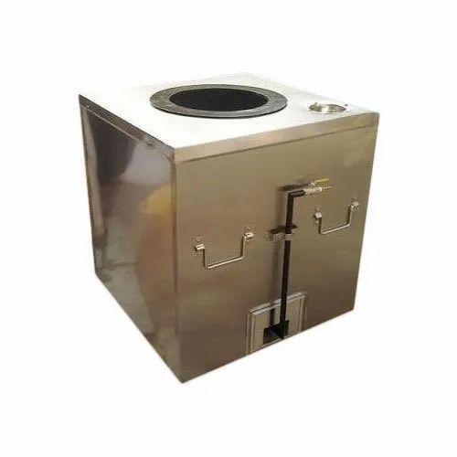 Square SS Gas Tandoor, for Commercial