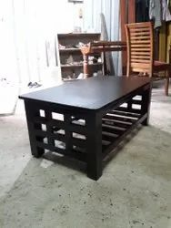 Rectangular Brown Modern Wooden Table, For Home, Hotel and Restaurant
