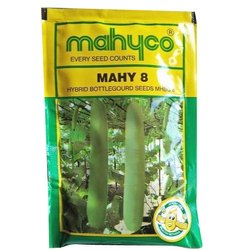Mahyoo MHBG-8 Hybrid Bottle Gourd Seed, For Agriculture, Pack Size: 50g