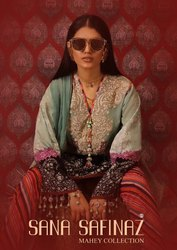 Unstitched Sana Safinaz Mahay Sharaddha Designer
