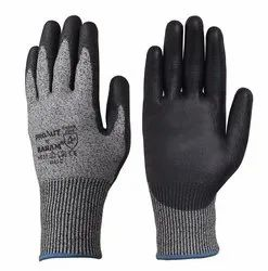 Karam HPPE Gloves with Black PU Coating
