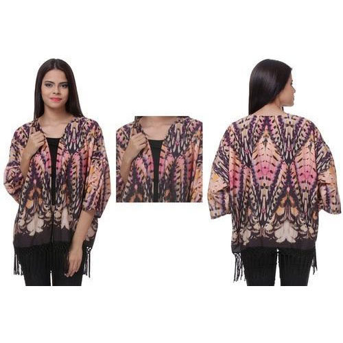 Ladies Printed Shrug