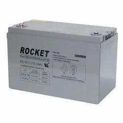 Rocket Sealed Rechargeable Battery, Model Name/Number: Esc 100-12, Voltage: 12V