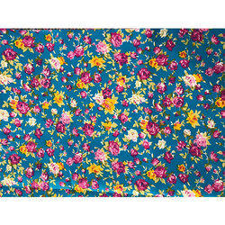 Polyester Floral Fabric