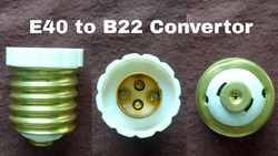 Adapter E40 To B22