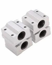 Aluminum Linear Motion Ball Bearing Slide Bushing For CNC, Dimension: 12 X 21 X 57mm, Weight: 95 Gm