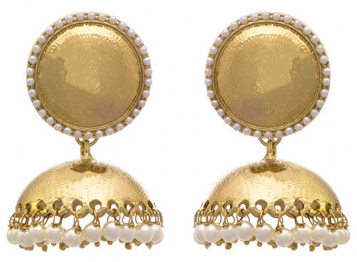 7a239588df JFL One Gram Gold Plated Designer Jhumka - JFL-Traditional Ethnic ...