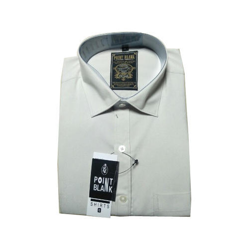 Point Blank Mens Full Sleeves Formal Shirts, Size: S-XL, Rs 320