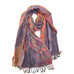 Wool Jacquard Stoles
