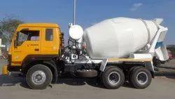 Diesel Engine Powerol Concrete Transit Mixer 8cum, Drum Capacity: 8000 litres
