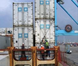 Container Securing Lashing