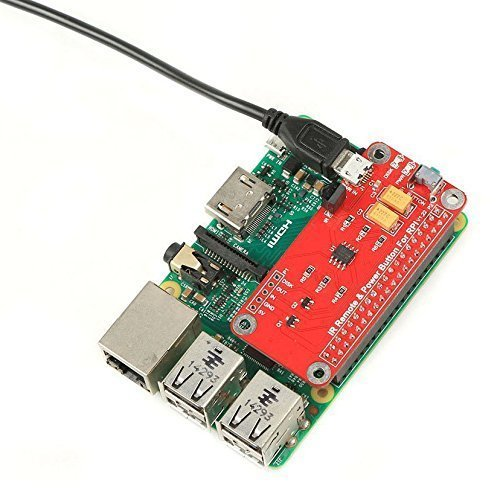 REES52 IR Remote Control Power Button Module For Raspberry Pi 2/3 Switch  Remote Control Module