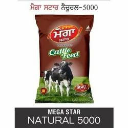 Mega Star Natural 5000 Cattle Feed