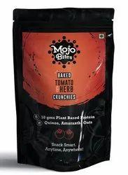Mojo Bites - Tomato & Herbs Baked Bites / Crunchies (10gms Protein)
