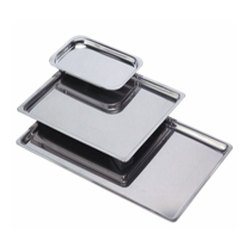 Stainless Steel Shallow Tray