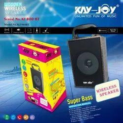 Black Rectangular Kay Joy KJ-800 BT Bluetooth Multimedia Speaker, Size: Medium
