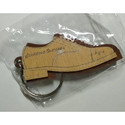 Shoes Shape Wood Keychain