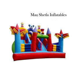 Fun Fair Inflatable Slide