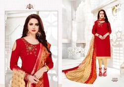 Navkar Kulfi Series 1001-1010 Stylish Party Wear Cotton Suit