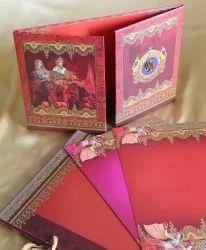 Royal Matte Luxury Wedding Cards