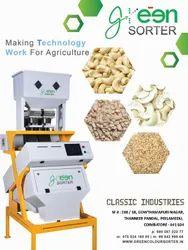 Cashew  Optical Color Sortex Machine