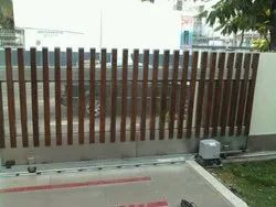 Automatic Stainless Steel Sliding Gate