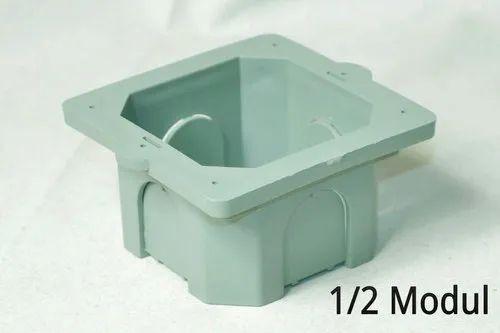 SHIV PLAST Plastic 1/2 MODULER PVC BOX, for Junction Boxes