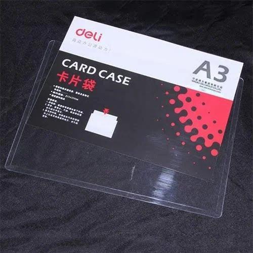 pretty nice 4f72f ab4a2 A3 Pvc Hard Card Case