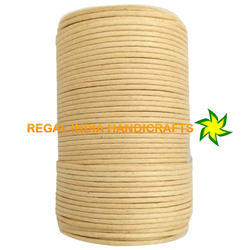 Natural Waxed Cotton Cord